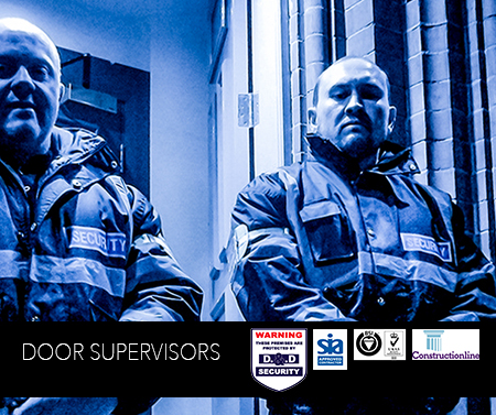 Door supervisors Security In Derbyshire